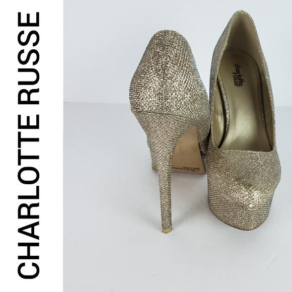 f50647bd6a Charlotte Russe Shoes   Platform Stiletto Heel Pumps   Poshmark